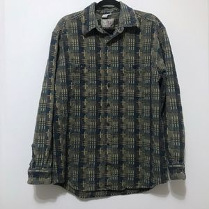 The Territory Ahead Textured Button Down Shirt XL